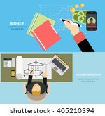 vector illustration. flat... | Shutterstock .eps vector #405210394