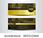 Gold And Black Gift Voucher...