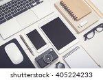 responsive mockup | Shutterstock . vector #405224233