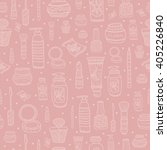 cosmetics. seamless pattern... | Shutterstock .eps vector #405226840