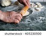 dough knead flour bakery