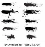 grunge banner sets   Shutterstock .eps vector #405242704
