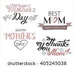 hand drawn lettering. different ... | Shutterstock .eps vector #405245038