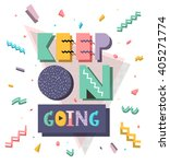 motivation retro style... | Shutterstock .eps vector #405271774