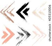 cute vector geometric seamless... | Shutterstock .eps vector #405310006