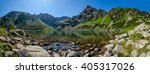 panoramic view of the polish... | Shutterstock . vector #405317026