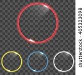 round shining frame background. ... | Shutterstock .eps vector #405323098