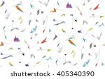 abstract geometric shapes.... | Shutterstock .eps vector #405340390