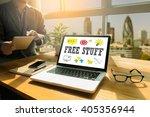 free stuff thoughtful male...   Shutterstock . vector #405356944