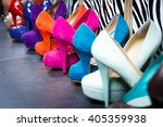 women's multi colored shoes... | Shutterstock . vector #405359938