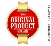 red original product badge ... | Shutterstock .eps vector #405369469