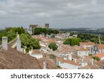 obidos  portugal   may 14  2015 ... | Shutterstock . vector #405377626