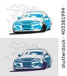 drifting | Shutterstock .eps vector #405381994