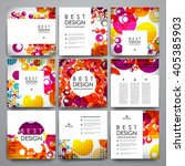 set of modern design banner... | Shutterstock .eps vector #405385903