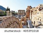 Ancient Ruins Of Celsus Librar...