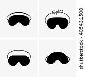 Stock vector blindfolds 405431500