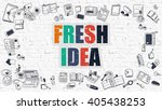 multicolor concept   fresh idea ... | Shutterstock . vector #405438253