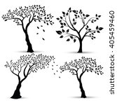 vector illustration   set of... | Shutterstock .eps vector #405459460