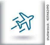 plane icon vector.