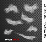 vector realistic 3d clouds of... | Shutterstock .eps vector #405480319