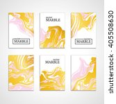 gold marble background banner.... | Shutterstock .eps vector #405508630