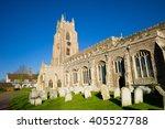 Church In A Village In Suffolk...