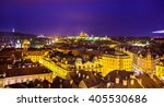 Night View Of Prague From The...