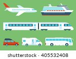 vector set of travel... | Shutterstock .eps vector #405532408