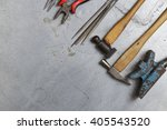 tools set of jewellery. jewelry ... | Shutterstock . vector #405543520
