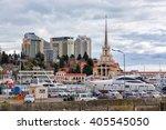 sochi  russia   february 8 ... | Shutterstock . vector #405545050