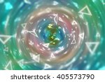 multicolored abstract... | Shutterstock . vector #405573790