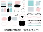 stickers for organized your... | Shutterstock .eps vector #405575674