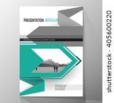 modern cover design  layout...   Shutterstock .eps vector #405600220