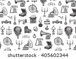 vintage objects vector graphic... | Shutterstock .eps vector #405602344