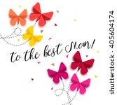 mothers day poster.  vector...   Shutterstock .eps vector #405604174
