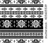 seamless ethnic pattern... | Shutterstock .eps vector #405605539
