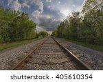 Railroad Tracks Of The...