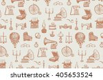vintage objects vector graphic... | Shutterstock .eps vector #405653524