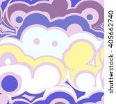 seamless groovy pattern | Shutterstock . vector #405662740