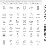 vector fitness and health ultra ... | Shutterstock .eps vector #405671410