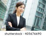 confident businesswoman   Shutterstock . vector #405676690