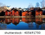 Porvoo  Finland. Classic Old...