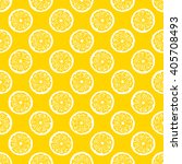 lemon slices seamless pattern   ... | Shutterstock .eps vector #405708493
