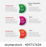 infographic design  on the grey ... | Shutterstock .eps vector #405717634