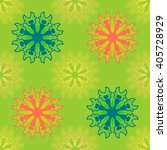 seamless pattern ethnic style.... | Shutterstock .eps vector #405728929
