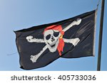 A Skull And Cross Bones Pirate...