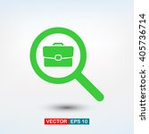 search job  icon. one of set...