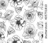 vector seamless pattern. hand...   Shutterstock .eps vector #405751810