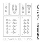 different push button control... | Shutterstock .eps vector #405754198