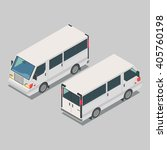isometric  car  front end rear... | Shutterstock .eps vector #405760198